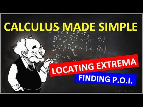 Calculus 1: Locating Extrema & Points of Inflection