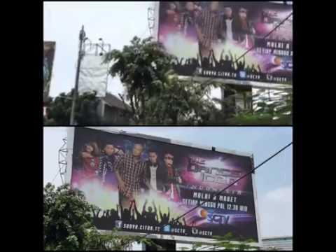 Bienaime Agency photography work on Billboards in Indonesia!!!
