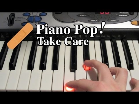 Take Care Piano Lesson - Drake ft. Rihanna - Easy Piano Tutorial