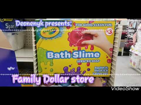 Crayola Bath Slime Scented Soap At Family Dollar Stores