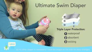 i play., Inc. Reusable Absorbent Swim Diaper