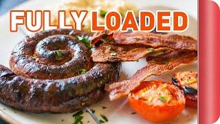 Fully Loaded English Breakfast Recipe | Big Night In