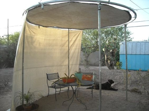 What To Do With Your Old Trampoline ideas