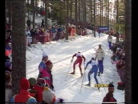 Bjørn Dæhlie VS Vladimir Smirnov, Falun 1993 - 15 km pursuit (2 of 3)