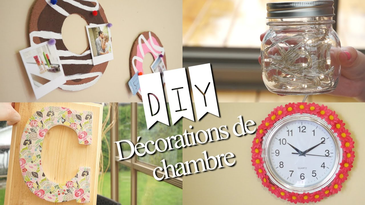 diy d corations de chambre d 39 t youtube. Black Bedroom Furniture Sets. Home Design Ideas