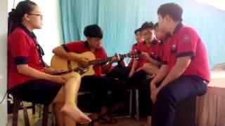 Như ngày hôm qua guitar (Học sinh trường Lạc Hồng Tp.HCM)