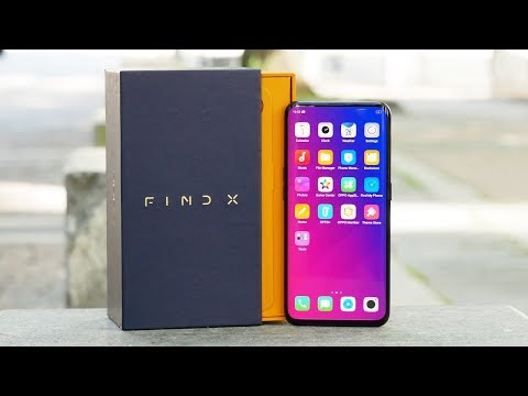 Обзор смартфона-слайдера Oppo Find X