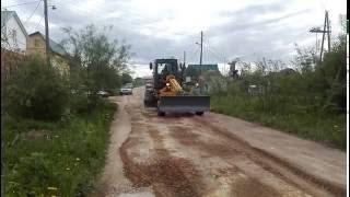 Автогрейдер ДЗ 122 грейдеровка дороги(Компания ООО