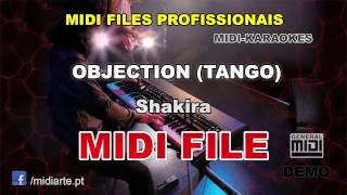 ♬ Midi file  - OBJECTION (TANGO) - Shakira