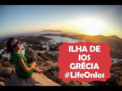 Vivendo um sonho na ilha de Ios - Grécia #LifeOnIos