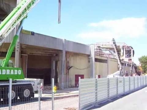 Cr nica gij n obras en el molin n estadio del sporting youtube - Estadio del sporting de gijon ...