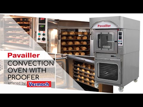 Pavailler Convection Oven With Proofer By Vesmach