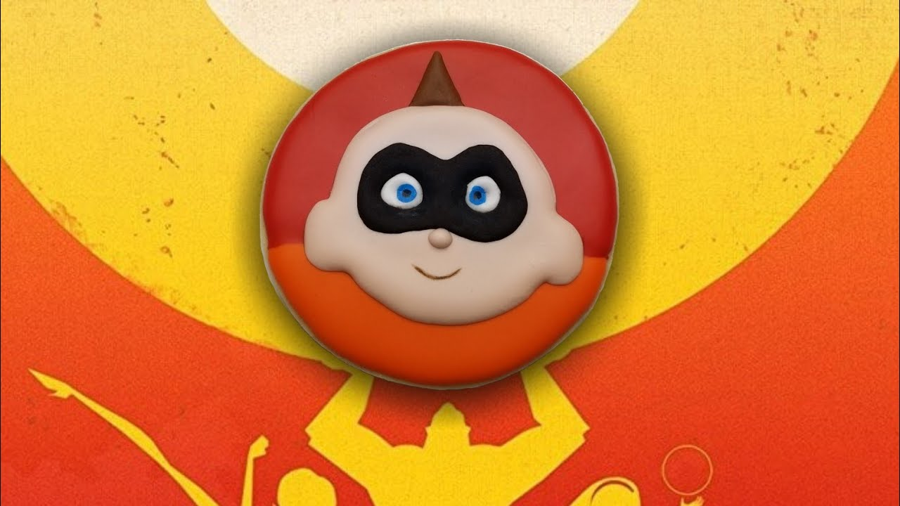 The Incredibles 2 Series Jack Jack Sugar Cookie How To Youtube