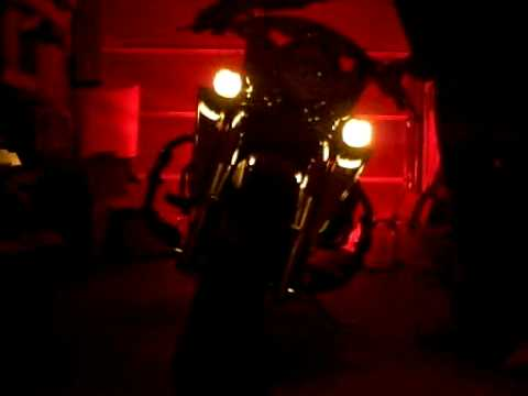 LED Turn signal conversion on Kawasaki Nomad - YouTube