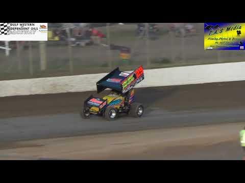Sprintcars Heat 1 Gulf Western & Independent Oils Raceway Latrobe 17/3/18