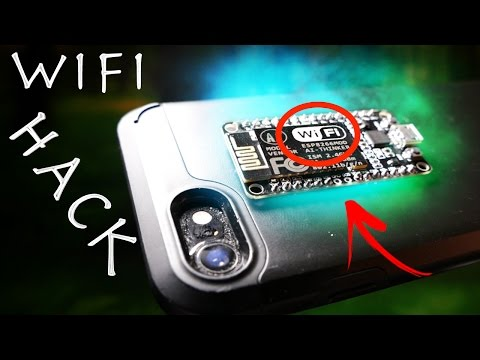 Thumbnail: Illegal $8 Wifi Jammer Hack! - Simple Smartphone Spy Gadget!?!?