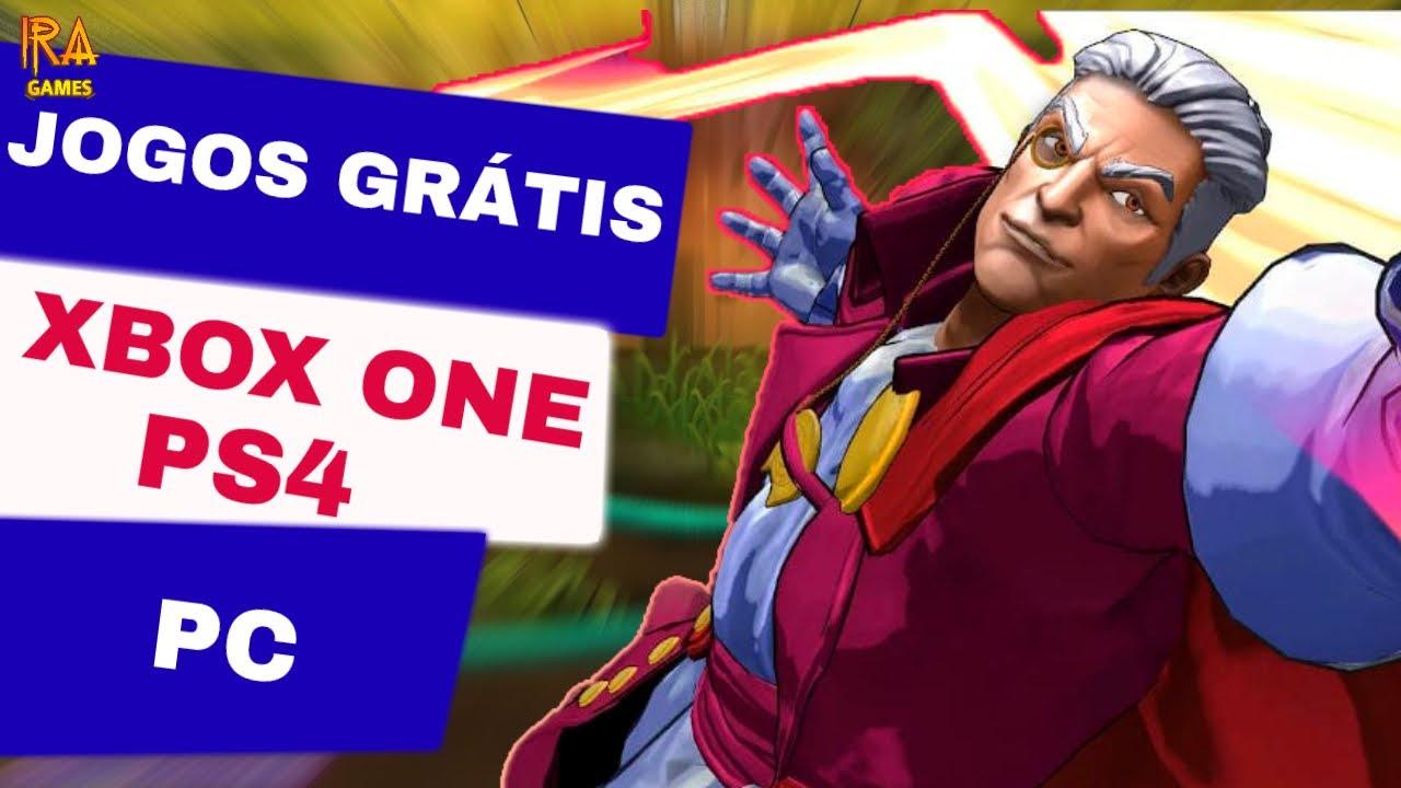 JOGOS GRÁTIS PARA PS4, XBOX ONE E PC  -  IRA GAMES