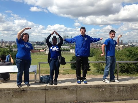 UK 1st Generation College Students Explore the World