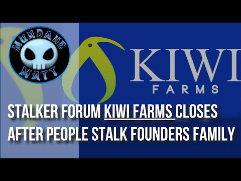 [Internet] Stalker forum Kiwi Farms closes after people stalk founders family