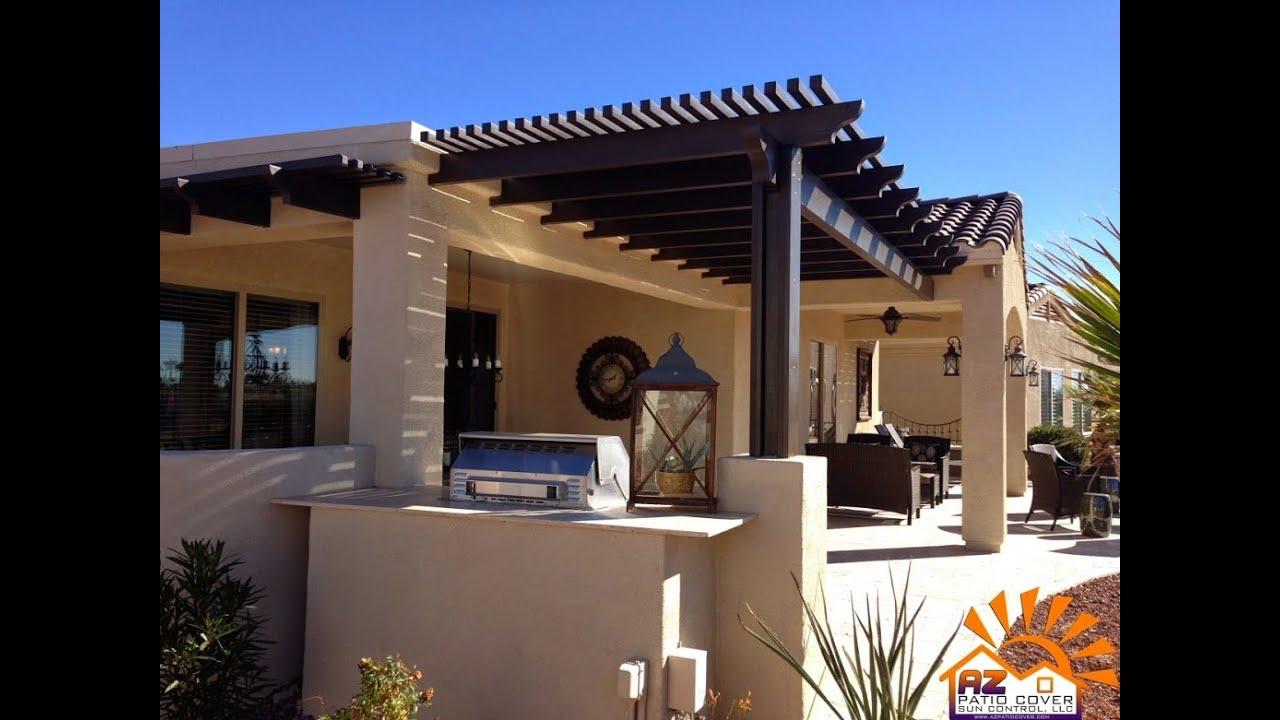 elitewood patio cover lattice pergola