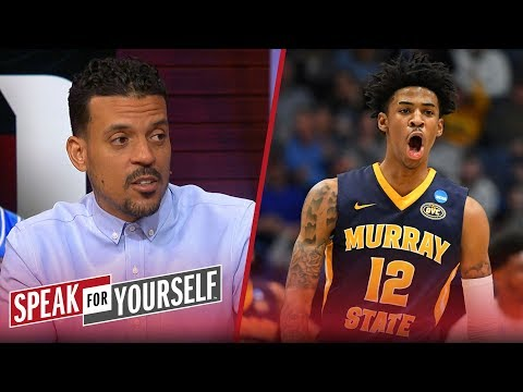 Matt Barnes defends Tom Izzo, says Zion will be a better pro than Morant | CBB | SPEAK FOR YOURSELF