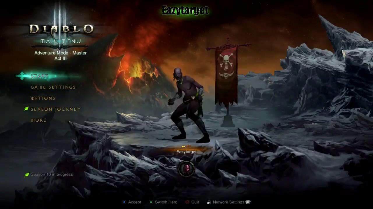 How seasons work on Console Diablo 3 - YouTube