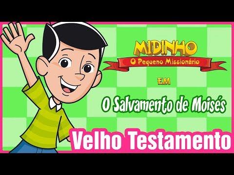 O Salvamento De Moisés - Midinho, O Pequeno Missionário