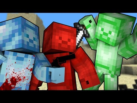 WHO KILLED GREEN STEVE?! | Minecraft Murder Mystery