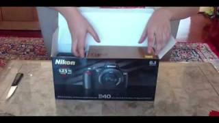 Nikon D40 Unboxing