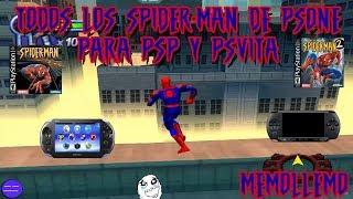 Spiderman de PSone para PSP y PSVita