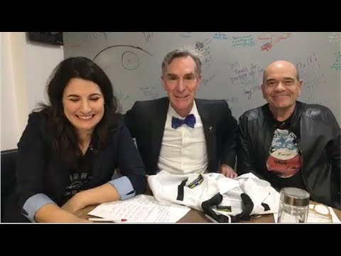 Bill Nye and Robert Picardo Giving Tuesday 2017 Facebook Live