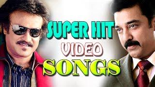 Tamil Romantic Songs Collection   Rajinikanth & Kamal Hassan Super Hit Songs NonStop Video Jukebox