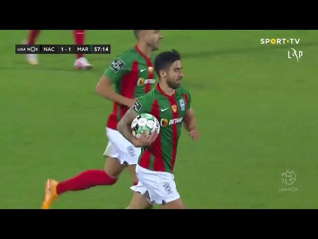 Goal | Golo Rodrigo Pinho: CD Nacional 1-(1) Marítimo (Liga 20/21 #23)