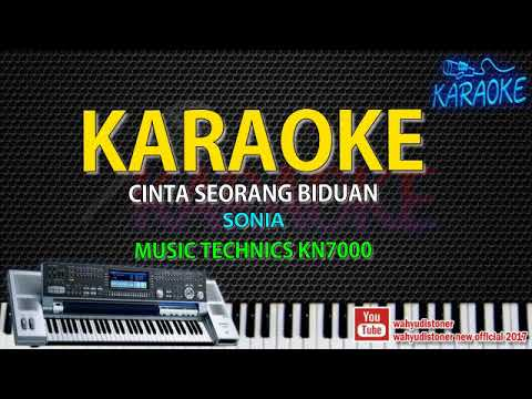 Karaoke Sonia - Cinta Seorang Biduan-  Music Technics KN7000 HD Quality Video Lirik Tanpa Vocal 2018