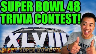 How well do you know Super Bowl 48? Join my Trivia Contest and win a spot on the show!