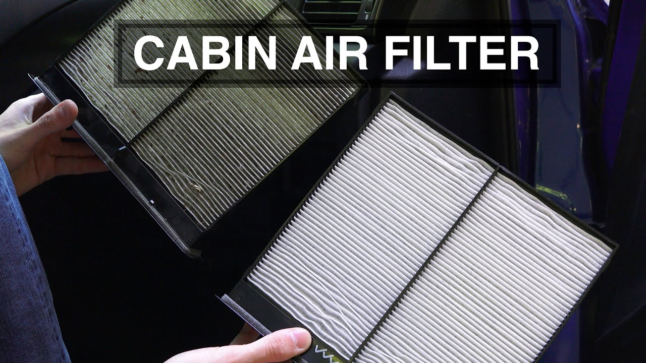 how to replace the cabin air filter in a subaru impreza
