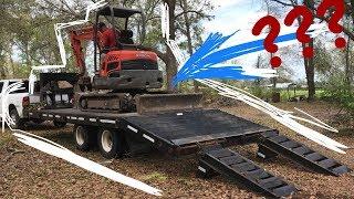 На чём в США возят трактора? Обзор трейлера Big-Tex.