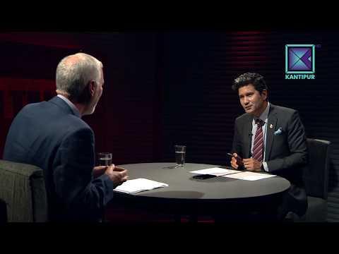 नेपालले मोहनी लगायो । माइकल हट Michael Hutt  in TOUGH talk with Dil Bhusan Pathak