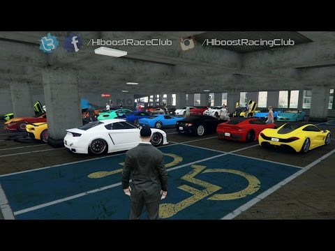 Grand Theft Auto V Online (PS4) | Exotic Car Meet | Car Show, T20 Test Drive, New Drag Spot & More