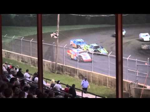 IMCA Modified feature Benton County Speedway 8/30/15