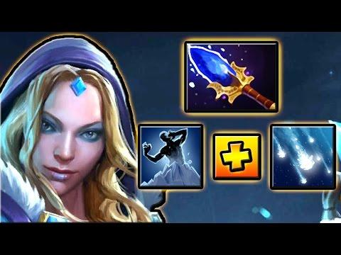видео: ЦМКА С НОВЫМ АГАНИМОМ 7.00 ДОТА 2 █ crystal maiden 7.00 dota 2