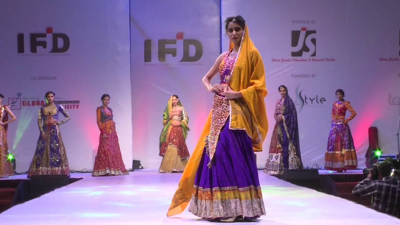 Krazy Kutch Round Ifjd Fashion Show 2015 Rajkot Youtube