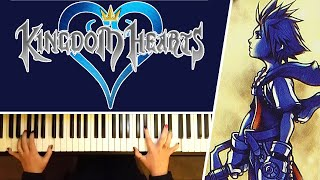 Hikari (Simple & Clean) Kingdom Hearts Theme by Utada Hikaru - Piano Cover