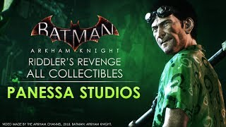 Batman: Arkham Knight – Riddler Trophies – Panessa Studios