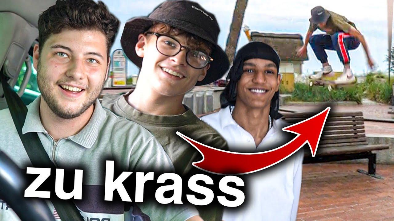 Artus & AJ zu Besuch in Lübeck (Skaten, Song machen)