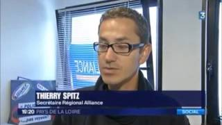 2013 - Alliance Nantes - Journee SANS PV  9 septembre - France 3