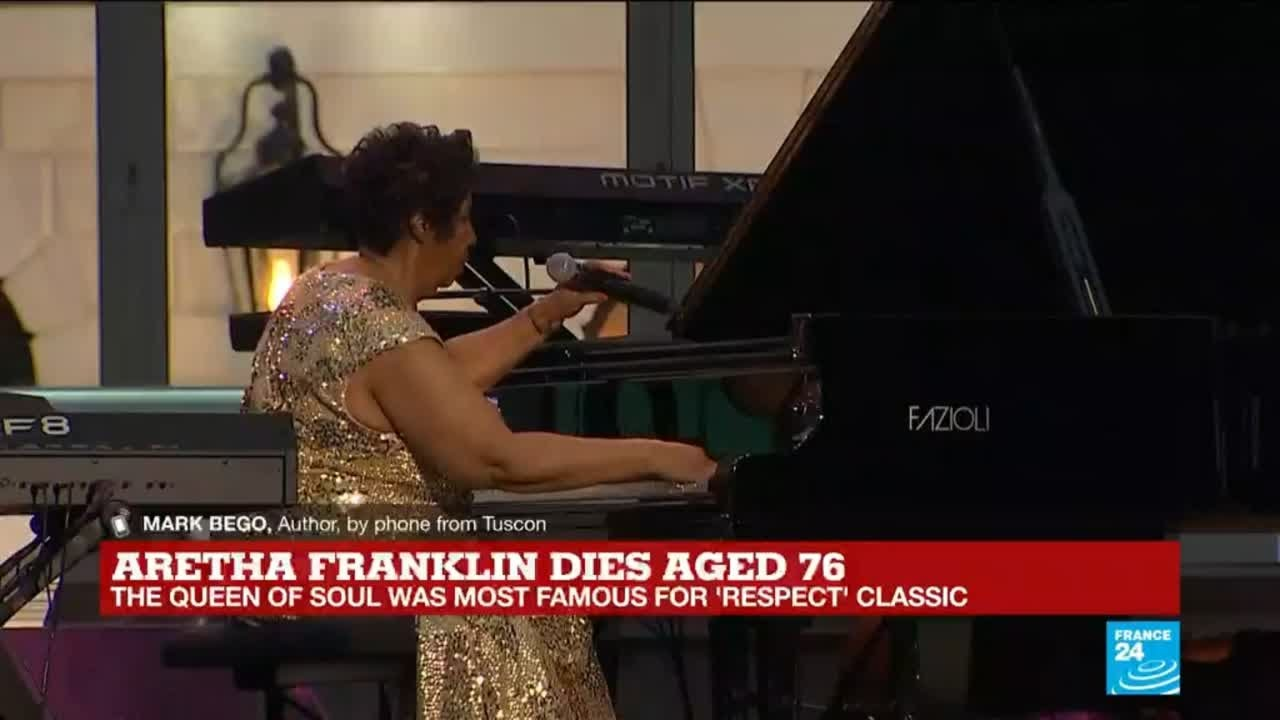 فرانس 24:Mark Bego: Aretha Franklin's voice was a