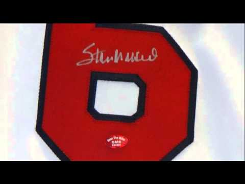 STAN MUSIAL AUTOGRAPHED ST. LOUIS CARDINALS JERSEY