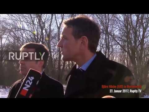 Björn Höcke (AfD): Persönliche Erklärung in Buchenwald (27.01.2017)