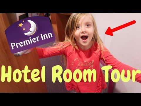 PREMIER INN HOTEL ROOM TOUR!